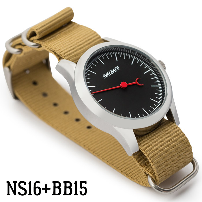 Svalbard NATO watch strap NS16 with High Pressure BB15 model sample
