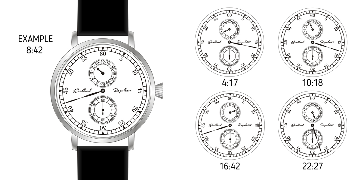 24-HOUR REGULATOR WATCH