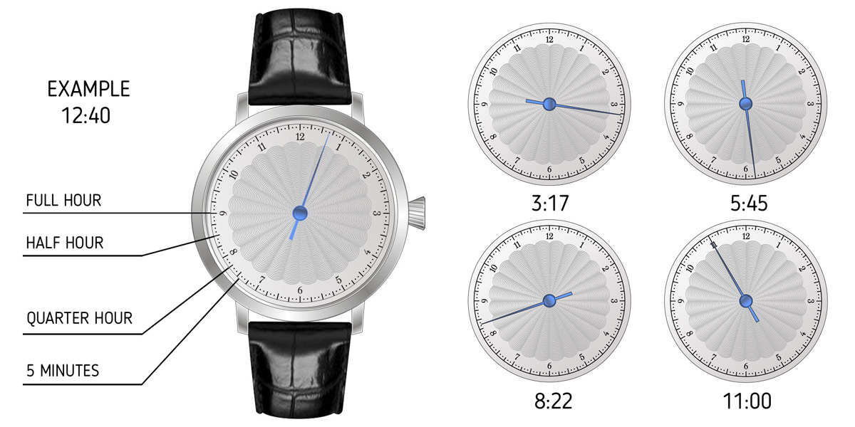 SINGLE HAND WATCH