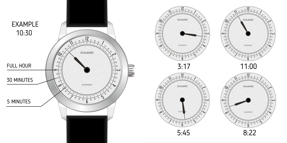 AUTOMATIC SINGLE HAND WATCH