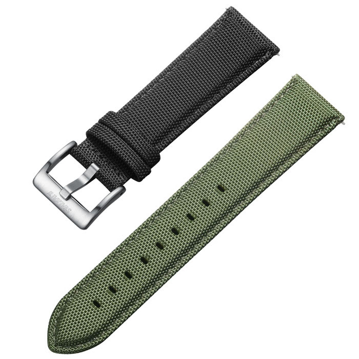 Svalbard canvas watch straps