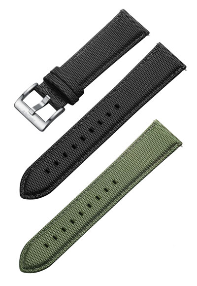 Original replacement Svalbard canvas watch straps