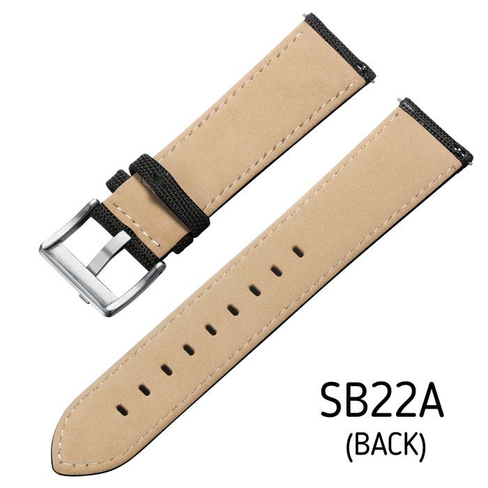 Svalbard canvas watch strap SB22A